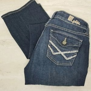 Kut From The Kloth Bootcut Flap Pocket Denim Jeans